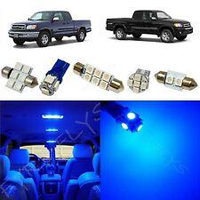 7x Blue LED lights interior package kit for 2000-2004 Toyota Tundra TT2B