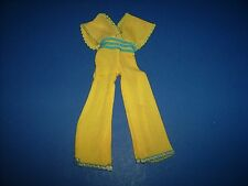 #2782 Yellow Jumpsuit Barbie Mod Fashions 1970s doll clothes Barbie 1979