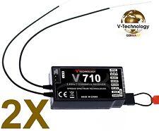 2X 7Ch. Empfänger neue Version von F701 für DSMX & DSM2 Spektrum Storm  G152 m2