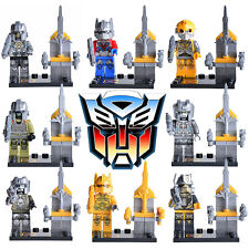 8 Sets Transformers Autobots Optimus Prime Minifigures Building Toys Blocks Lego