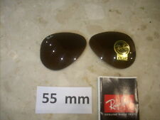 RAY BAN  coppia lenti  sole  X RB  3025   BROWN  B 15   55 mm