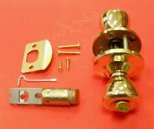 New Mobile Home Interior Locking Privacy Door Knob Polished Brass