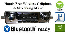 58-67 Volkswagen Bug AM FM Bluetooth New Stereo Radio iPod USB Aux in, 300 watts