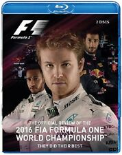 F1 2016 Blu-ray Video 2 Disc. Nico Rosberg Formula One Champ 313 Min. DUKE 3735N