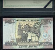 Philippines 2000 Piso Commemorative Issue, 1998, Pick 189, UNC in Folder