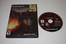 DIRGE OF CERBERUS FINAL FANTASY VII Sony Playstation PK2 Game With CASE