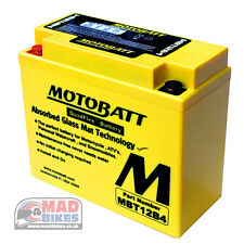 Ducati Multistrada 1200 High Power AGM Motobatt Battery 2010, 11, 12
