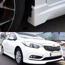 Morris Club Front Lip + Side Skirts for KIA Forte K3 Sedan 2014+ [PAINTED]