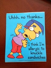 THE SIMPSONS STICKER-12