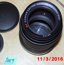 Carl Zeiss Jena DDR SONNAR MC 135mm/1:3,5 obiettivamente; connettore m42 (y0059)
