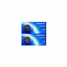 2 batteries CR1632 EUNICELL - 3V Lithium