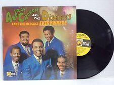 1968 ANDRAE CROUCH & DISCIPLES take the message everywhere Debut 1st vinyl LP NM