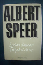 First Edition SIGNED by ALBERT SPEER Adolf Hitler Armaments Minister*WWII Nazis
