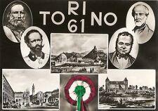 CARTOLINA NON VIAGGIATA_ Centenario Unità d'Italia DTC _ ITALIA '61 _ TORINO '61