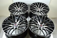 18 Drift Rims Wheels Sienna Sonata Civic Mazda 3 5 6 Camry CL TL Eclipse 5x114.3