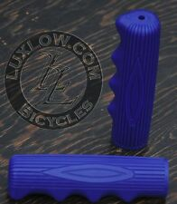 Blue Vintage Schwinn Stingray Type Bike Grips Lowrider Muscle Bicycle Cruiser