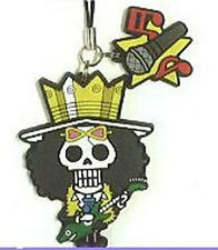 One Piece New World Brook Rubber Cell Phone Strap Licensed NEW
