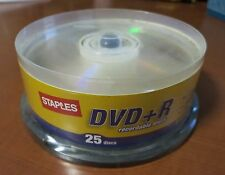 DVD +R 25  Pack Spindle Blank Recordable Discs 16x 4.7GB 120min Cheap Shipping