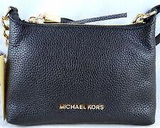 MICHAEL Michael Kors Bedford BLACK Leather Crossbody bag