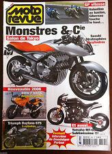 MOTO REVUE 10/2005; Salon de Tokyo/ Triumph Daytona 675/ BMW F 800 S/ D. Perben