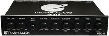 Planet Audio PEQ10 4 Band Equalizer Aux Input Master Volume Control