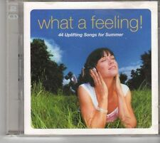 (EU768) What A Feeling! 44 Uplifting Songs For Summer  - 2003 CD