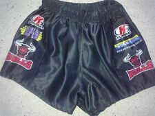 Bankstown Bulls player issue NSWRL rugby league sponsored footy shorts