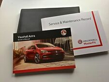 VAUXHALL ASTRA J  VXR SERVICE BOOK HANDBOOK & WALLET PACK -  2011 To 2015 NEW