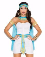 Egyptian Queen Costume Medium M Women Sexy Halloween Egypt Nile Goddess Dress