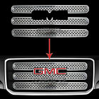 13-16 GMC ACADIA CHROME Snap On Grille Overlay 3 Bar Front Grill Covers Inserts