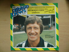 Football League Division 1- 1980/81 West Bromwich Albion v Liverpool,Vol.72 No19