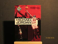1998-99 UD Choice Preview Michael Jordan NBA Finals Shots #3 Michael Jordan