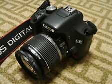 Nice Canon EOS T1i 500D 15MP Digital SLR Camera Body with 18-55mm IS Lens