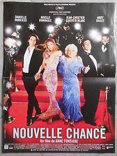 Affiche NOUVELLE CHANCE Anne Fontaine DANIELLE DARRIEUX Arielle Dombasle 40x60
