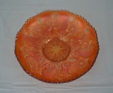 "Vintage Fenton Marigold Carnival Glass 9.5"" Bowl - Little Flowers Pattern"