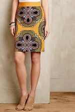 NWT Anthropologie Clementina Pencil Skirt by Maeve Sz 0 RARE 5star Reviews