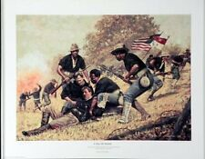 "Buffalo Soldier Art Print ""A Day of Honor"" (S/N LImited Edition)"