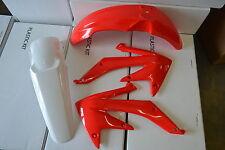 POLISPORT PLASTIC KIT HONDA CRF450 CRF450R  SHROUDS FRONT & R F  2005 2006 07 08
