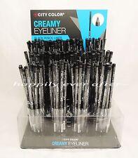 """City Color 7"""" BLACK Creamy Long Pencil Eyeliner - CLASSIC BLACK PENCIL EYELINER"""