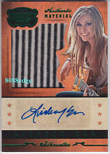 2014 PANINI COUNTRY MUSIC MATERIAL AUTO:LINDSAY ELL #20/25 AUTOGRAPH WORN SWATCH
