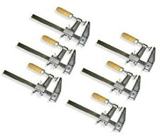"Lot of 6: 36"" Inch BAR CLAMPS Heavy Duty Woodworking Wood Carpenter Tools"
