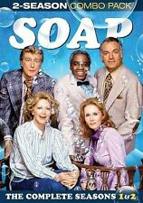 SOAP SEASONS 1 AND 2 (DVD, 2014, 4-Disc Set) NEW