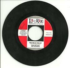WARD WELLMAN AND THE KENTS-PONY ESPRESSO/WRITTEN IN THE SKY-US IMPORT 1963LAURIE