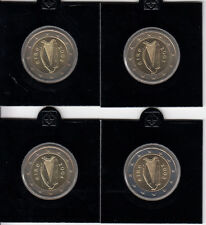 Irland Lot - 2002 bis 2005 Kursmünzen 2 - Euro bankfrisch