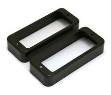 Black Mini Humbucker Pickup Rings for Gibson Les Paul Deluxe® PC-0747-023