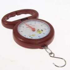 Fish Shape 10kg Weighing Handheld Numeral Pointer Spring Balance Hanging Scale X