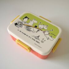New Moomin Valley Lunch box set by Tove Marika Jansson 650ml from Japan