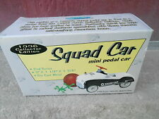 "NRFB Vintage 1996 XONEX ""SQUAD CAR"" Mini Pedal Car in Original Box  (NBS6)"
