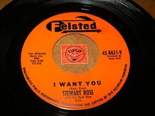 STEWART ROSE - I WANT YOU - HOW MUCH DO I LOVE YOU    / LISTEN - POPCORN
