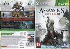 Assassin's Creed III [Edition Classics Best Seller Awarded] - Jeu XBOX 360 neuf